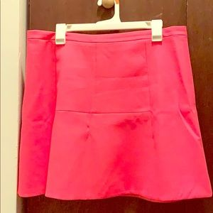 Electric Pink J Crew Skirt